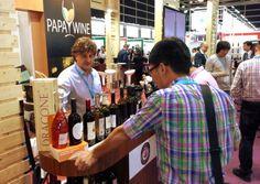 Papawine at Hong Kong Wine & Spirits Fair 2015