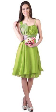 Donna Bella Fuffle Chiffon Floaty Beaded Empire Waist Bridesmaid Dress - Color: Lime Green,£29.95 http://www.amazon.co.uk/dp/B00EHA74GW/ref=cm_sw_r_pi_dp_Cjmawb1RE974X