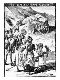 Advertisment for Pears Soap, 'The Formula of British Conquest, Pears Soap in the Soudan', 1884 Giclee Print by English at AllPosters.com