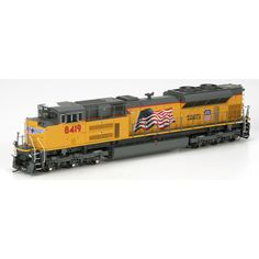 HO SD70ACe w/DCC & Sound, UP/Flag #8419 (ATHG68623): Athearn Trains