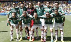 Selección nacional de México en Brasil 2014