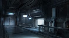 Halo 4 Concept Art by Josh Kao Sci Fi Environment, Environment Design, Fallout, Sci Fi Wallpaper, Wasteland Warrior, Spaceship Interior, Futuristic Interior, Concept Art World, Science Fiction Art