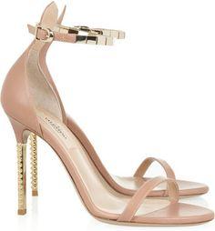 POPSUGAR Shopping: Valentino Embellished leather sandals