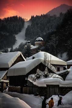 #Winter scenery in #Bosnia and Herzegovina  - #snow