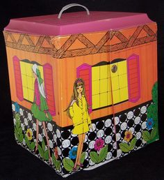 Mod 1968 Fold Out House...My grandmother had this and I would play with it at her house