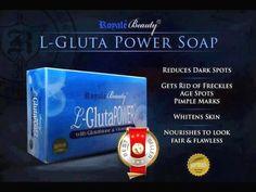 2 bars L-GLUTA POWERFUL WHITENING SOAP GETS RID FRECKLES W/ GLUTATHIONE & VIT.E | eBay