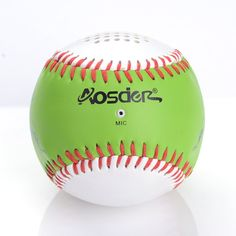 Aosder Mini Bluetooth Speaker Portable Wireless Stereo Speaker Tennis Light Green. Fashionable and classic design, spherical Bluetooth speaker with LINE-IN function. High Tech Bluetooth wireless technology, suitable for any device with Bluetooth function, Bluetooth adapter, Bluetooth player and all kinds of mobile phones, iPhone, Samsung, HUAWEI, HTC etc. Portable Bluetooth speakers with Hands Free Calling, easy use and convenient. Superior Sound Quality, New Micro vibration film makes…