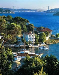A view of Istanbul