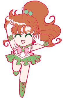 Sailor Jupiter from the Sailor Moon Channel