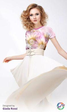 Stock up on the perfect layering tee for Fall! www.oarttee.com/ #oarttee #alloverprint #backtoschool #fashion GiadaRossi