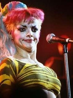 Nina Hagen Nina Hagen, Popular People, Real People, Blitz Kids, 80s Punk, Punk Women, Rock News, Riot Grrrl, Club Kids