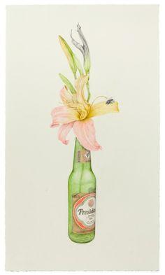 ilustración Aurel Schmidt http://aceriiico.tumblr.com/post/58230739031/con-el-nectar-de-tu-flor-polinizare-los-campos