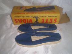 ANOS DOURADOS: IMAGENS & FATOS: IMAGENS - Velharia: Calçado Alpargatas anos 50