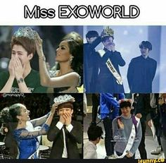 Miss EXO OMG IM DYING>> IKR, I CAN'T HANDLE THIS MY GODS LET ME REST IN PEACE, PLEASE.