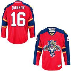 d97d475be Aleksander Barkov Florida Panthers Reebok Youth Home Premier Jersey - Red