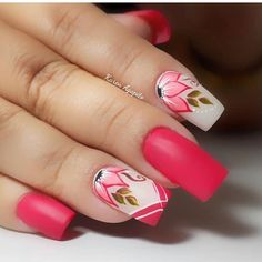 La imagen puede contener: una o varias personas y primer plano Stylish Nails, Trendy Nails, Cute Nails, Uñas One Stroke, Nail Picking, Nails 2014, Fail Nails, Fabulous Nails, Flower Nails
