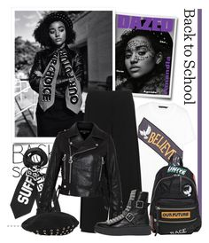 """""""Back to School: Fall Jackets"""" by emavera ❤ liked on Polyvore featuring moda, Marc by Marc Jacobs, Alexander Wang, BackToSchool, AlexanderWang y marcbymarcjacobs"""