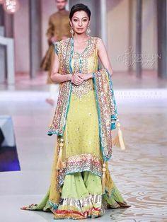 Latest Bridal Mehndi Dresses Collection 2015-2016 | BestStylo.com
