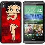 HTC Desire 816 case,Custom Betty Boop (2) Black HTC Desire 816 cover