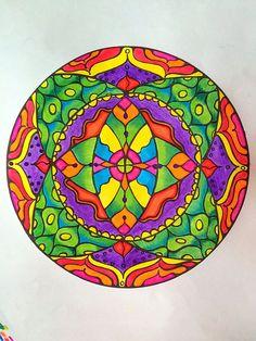 Design bySamdala, from Mandala Mojo Colouring by Sita Giri