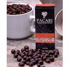 GRANOS DE CAFÉ CUBIERTOS DE CHOCOLATE de Pacari
