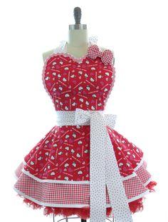 Hello Kitty Hearts Apron