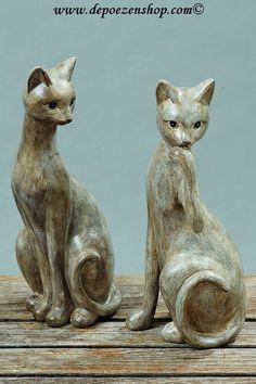 Grote keuze in  #kattenbeelden http://www.depoezenshop.com