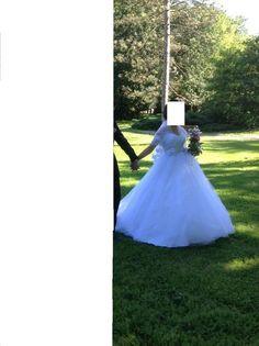Robe de mariée de l'empire du mariage