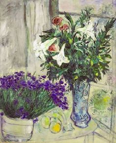 """Lilies and Blueberries"" by Marc Chagall."