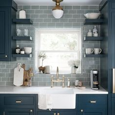 More ideas below: Kitchen Remodel On A Budget Small Kitchen Countertops Remodel Kitchen Remodel Galley Ideas Kitchen Remodel Layout Kitchen Bar Remodel With Island Kitchen Remodel Before And After DIY Farmhouse Kitchen Remodel Farmhouse Sink Kitchen, Grey Kitchen Cabinets, Kitchen Tops, Kitchen Cabinet Design, Kitchen Flooring, New Kitchen, Kitchen Art, Blue Cabinets, Kitchen Decor