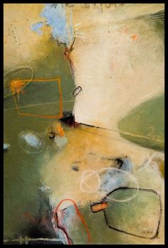 "Michael den Hertog, ""A Day At The Park"", mixed media on canvas"