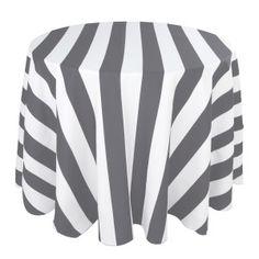 Grey/White Liberty Stripe Print