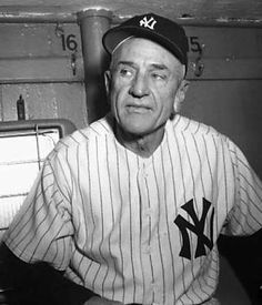 Casey Stengel - elected to National Baseball Hall of Fame in 1966