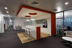 Kitchen Design Siemens Office Corporation in Moscow
