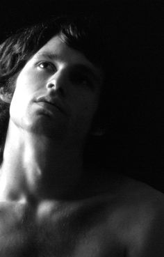 Jim Morrison photographed by Guy Webster, 1966.
