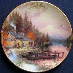 1998October - End of a Perfect Day - Simpler times mini plate
