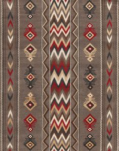 LW53D, Grey Red - Southwestern rugs, Luxury Lodge comes to life in this imaginative collection. Traditions of the past meet modern needs for quality, beauty and comfort in these unique and timeless designs inspired by Native American motifs from the American Southwest. Soft pile weave replaces the traditional flat weave of typical Navajo-inspired carpets, resulting in luxuriously soft, superior quality hand-woven rugs.