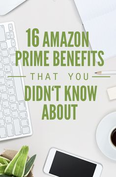 16 Amazon Prime benefits you didn't know about, so much more than 2-day shipping! Streaming, audible, channels and how it replaces Netflix. Try it for free! :: DontWastetheCrumbs.com