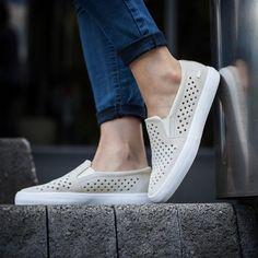 f5c4e2351 Women Lacoste Shoes White Slip On Sneakers Leather Lacoste Gazon White Slip  On Sneakers