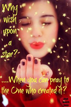 christian quote wish on a star