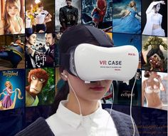 Hot sale virtual reality glasses VR CASE 5th generation 3D BOX VR BOX for 4.7 6 inch phone gift