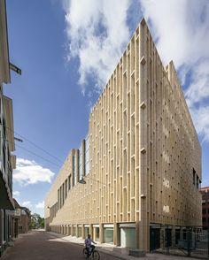 Culturehouse in Arnhem by Neutelings Riedijk Architects