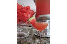different and intriguing!  --  Foodista | Recipes, Cooking Tips, and Food News | Summer Time Watermelon Punch