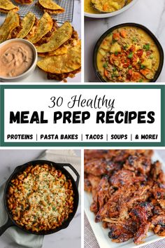 Taco Pasta Recipes, Lunch Recipes, Healthy Recipes, Full Meals, One Pot Meals, Healthy Meal Prep, Healthy Cooking, Honey Chipotle Chicken, Macro Food