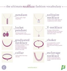 The Ultimate Necklace Fashion Vocabulary (2017 Edition) | enérie