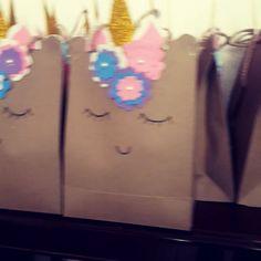 """Detalles Kiute (@detalles.kiute) en Instagram: Bolsas de dulces de unicornios!!! 🦄😍"""""""