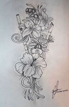 Mi próximo tatuaje omitiendo el bambú.