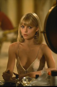 Michelle Pfeiffer in Scarface.  ..... @Kristine Philbrook