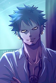 Loi Trafalgar, Trafalgar D Water Law, Anime Demon, Manga Anime, Anime Art, Nico Robin, Zoro, I Love Anime, Anime Guys