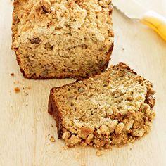 Sugar-Free Banana Honey Nut Loaf